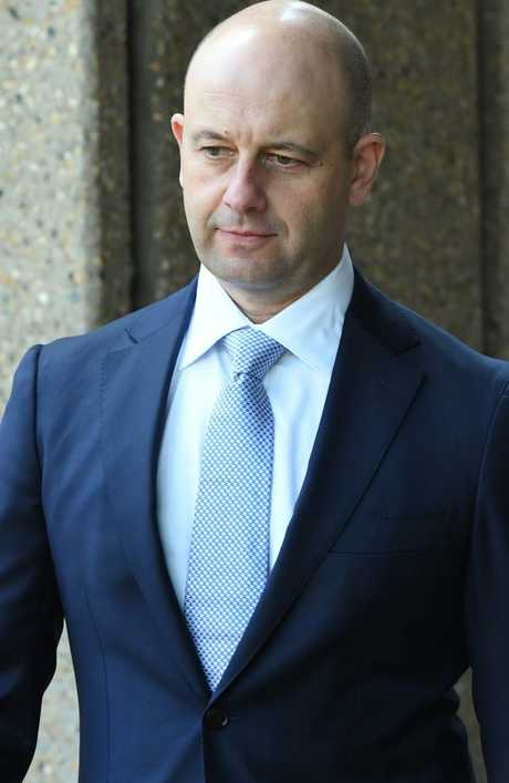 Todd Greenberg arrives at the NSW Federal Court in Sydney. Picture: AAP