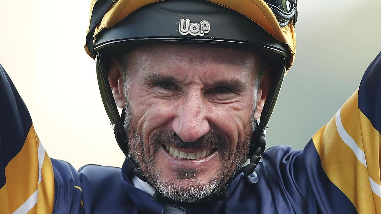 Glen Boss showed he's still got the Group 1 touch with his victory on Brutal in the Doncaster Mile. Picture: Getty Images