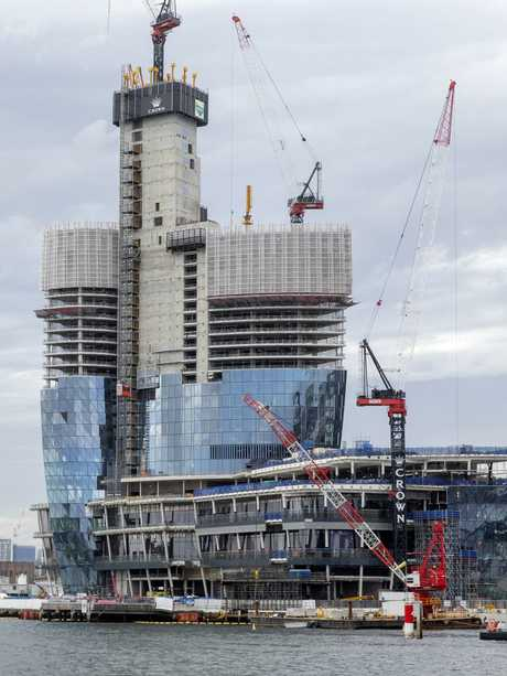 There will be just 82 luxury apartments in the complex. Picture: Justin Lloyd.