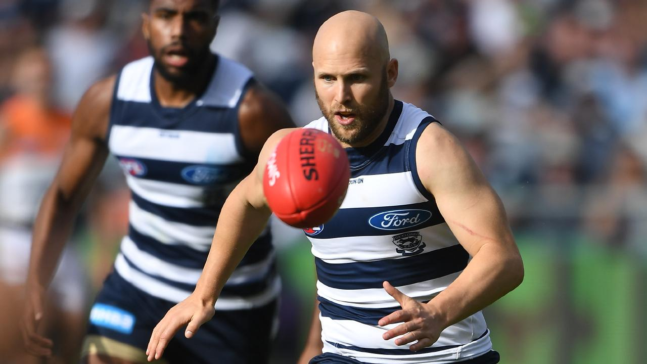 Cats star Gary Ablett. Picture: AAP Image/Julian Smith