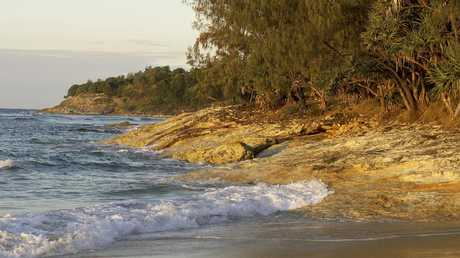 FISHING HOT SPOT: Cylinder Beach. Credit: Tourism and Events Queensland