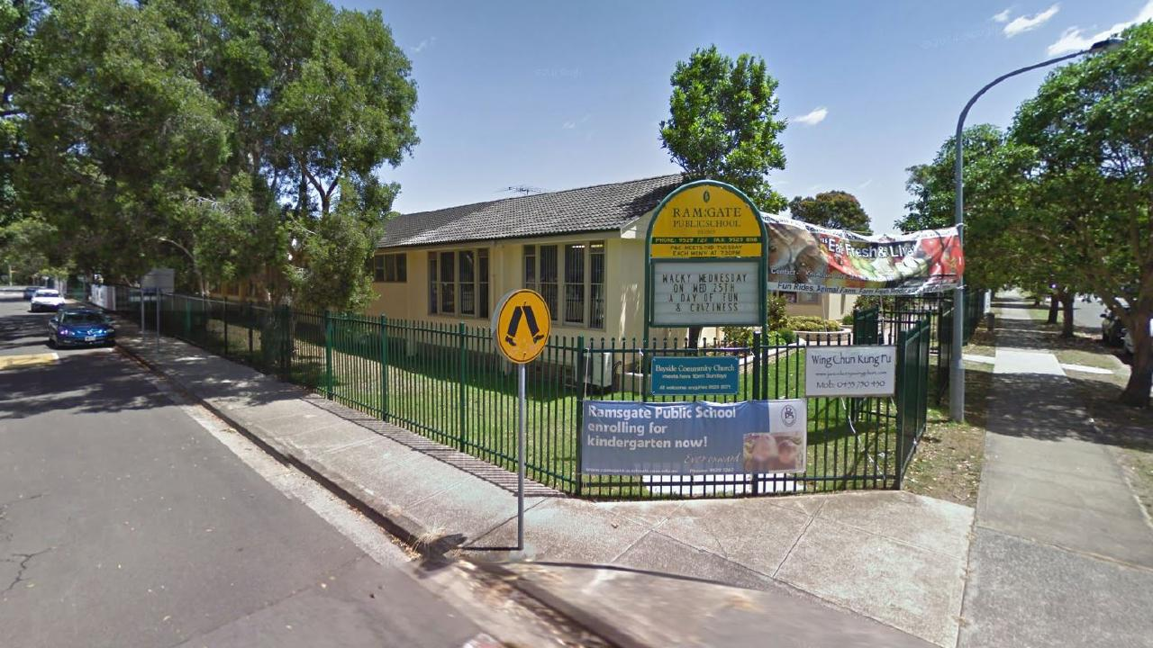The department is pursuing the matter with Ramsgate Public School with a view to ensuring future compliance with the policy. Picture: Supplied