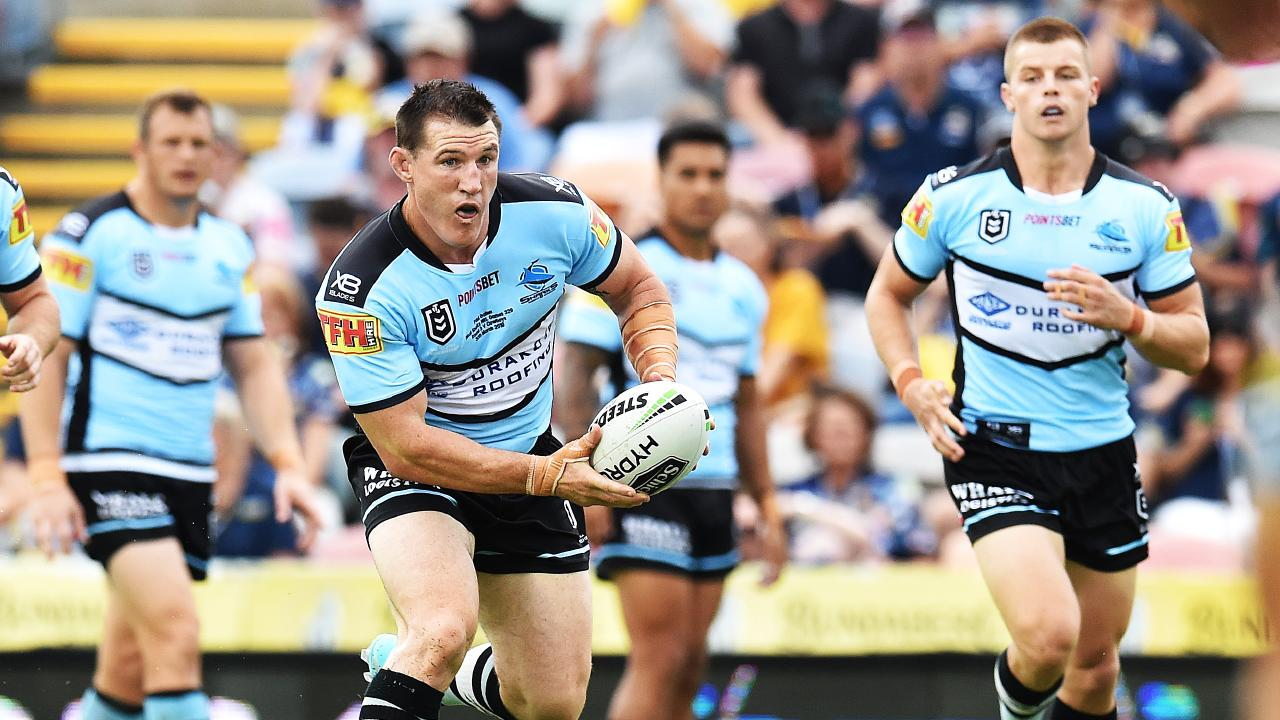 Paul Gallen has been named to return from injury. Picture: Zak Simmonds