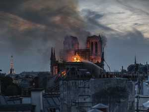 First look inside devastated Notre Dame