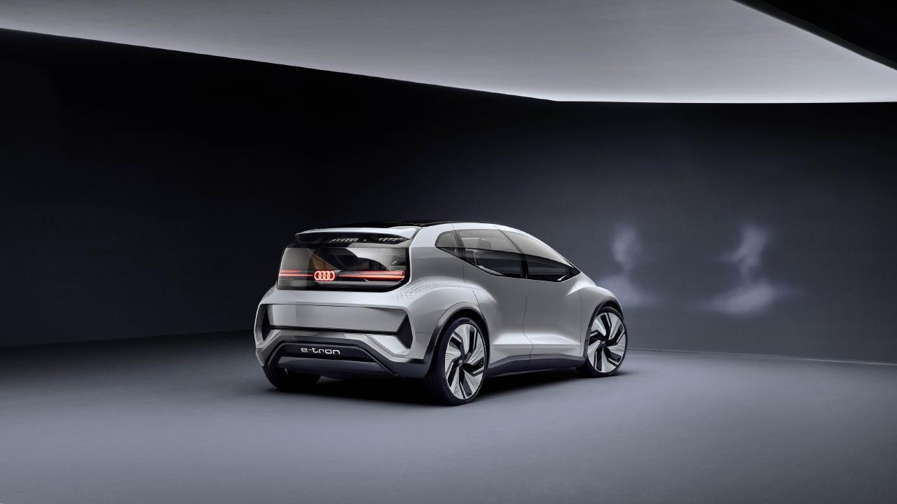Audi AI:ME concept is envisioned to be a level four autonomous vehicle.