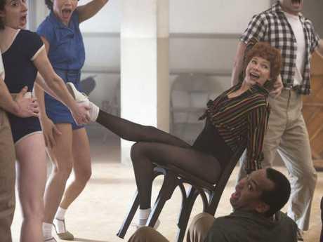 Michelle Williams portrays 'the greatest ever Broadway dancer' Gwen Verdon in new series Fosse/Verdon. Picture: Eric Liebowitz/FX/AP