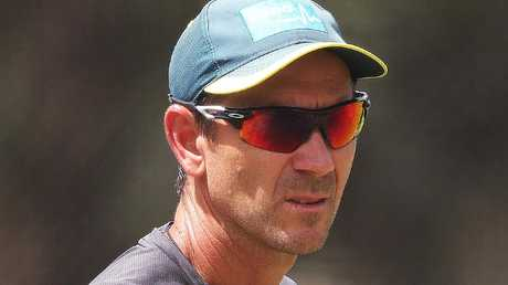 Coach Justin Langer said Peter Handscomb was close to being selected for the World Cup. Picture: Phil Hillyard