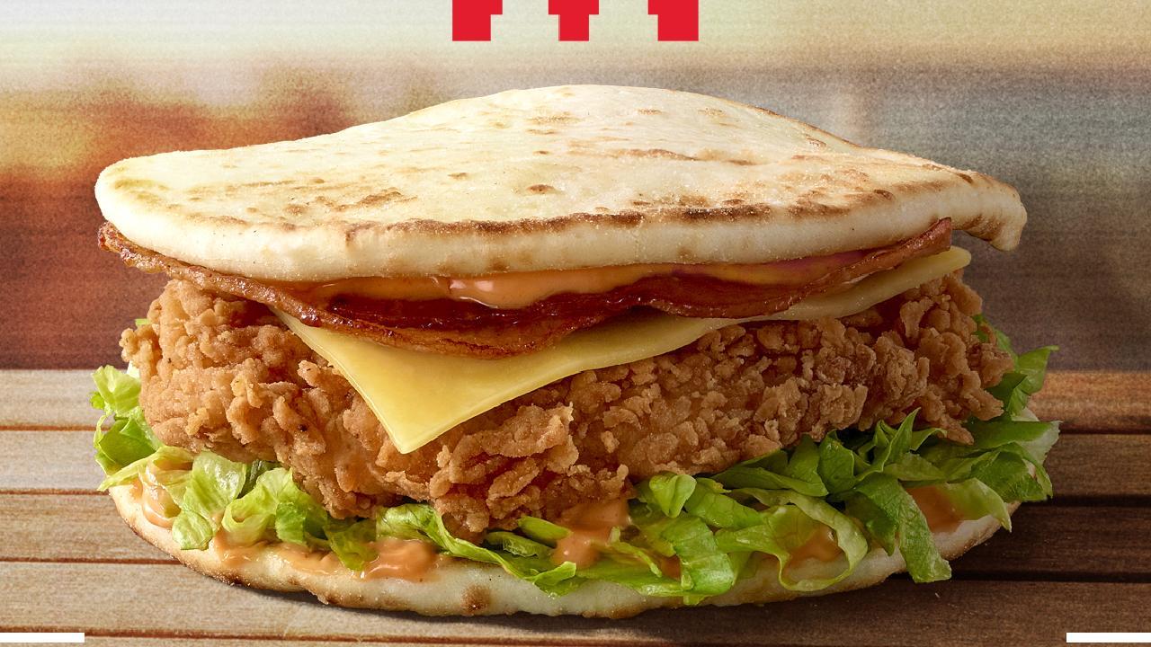 … and the Slide Burger for $6.95/ 2569KJ.