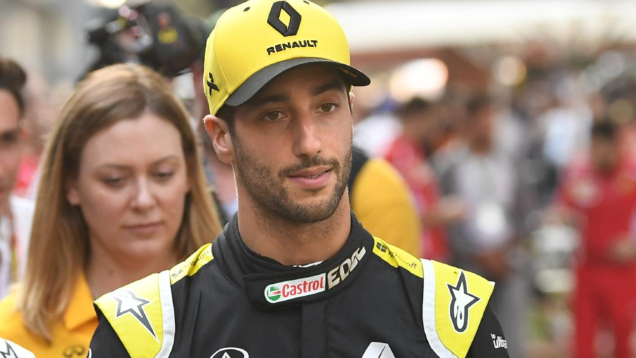 "Daniel Ricciardo's positive result was achieved despite a ""miserable"" reality. Picture: Julian Smith/AAP"