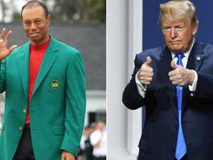 Golf-mad Trump to honour Tiger Woods