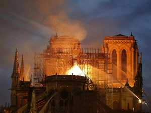 How did Notre Dame fire start?
