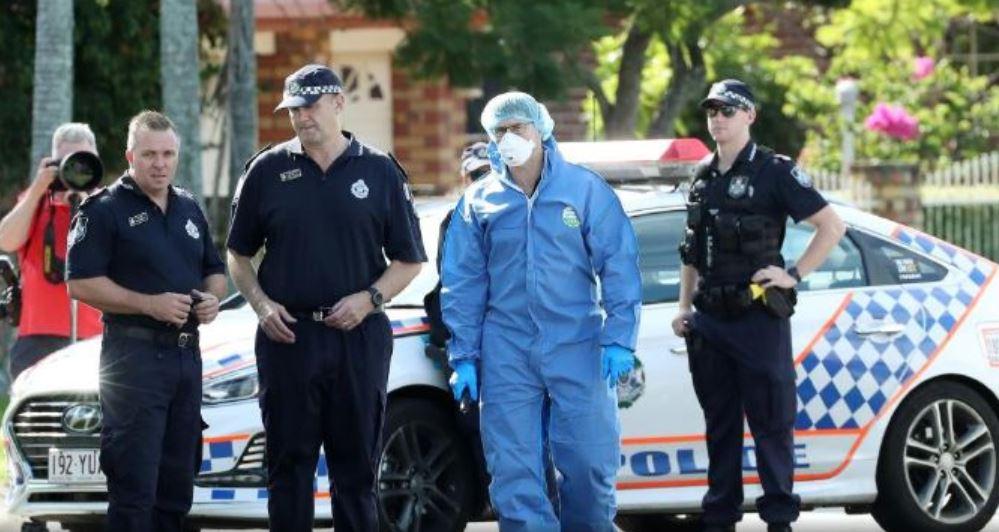 Police investigating a fatal shooting at Delfin Drive, MacGregor.
