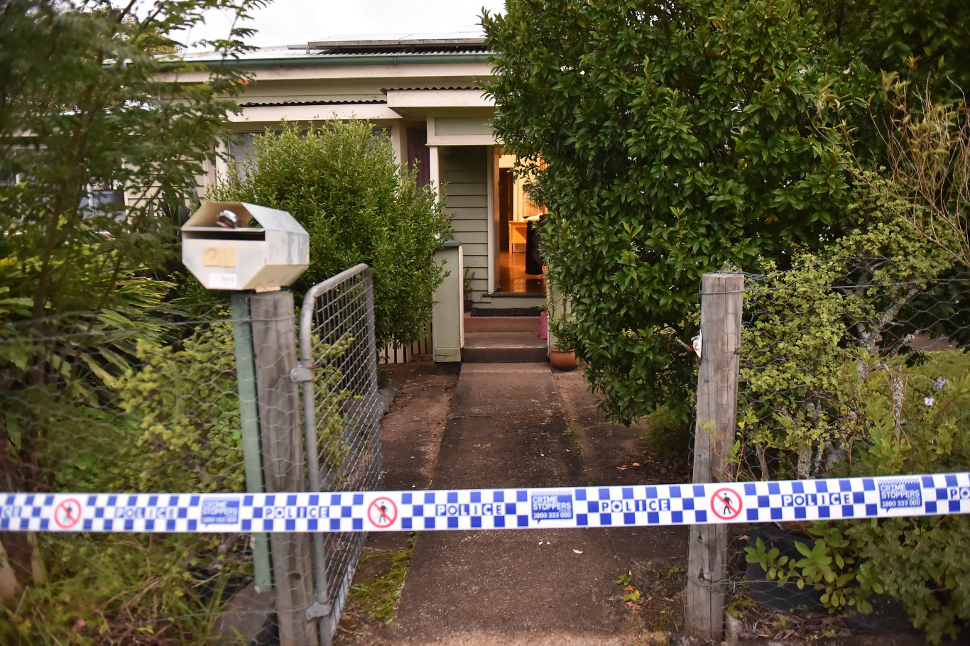 POLICE are investigating the suspicious death of a middle-aged man who was initially thought to have suffered a fall at a Maleny home.