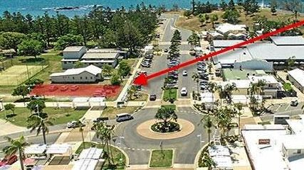 The proposed location for a new art gallery at Emu Park.