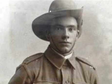 DIGGER: A medal belonging to Private Robert Kerridge, believed to be the first Gympie Anzac killed in World War I, was uncovered by a metal hunter at a Widgee property.