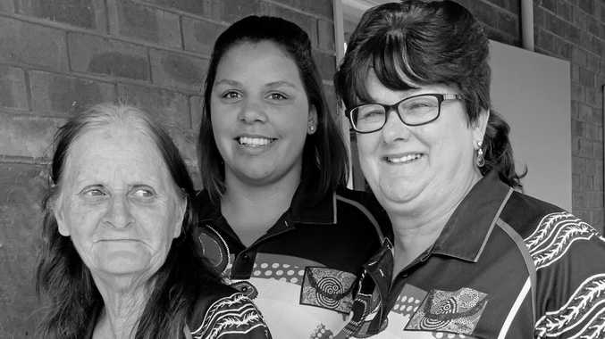 SUCCESSFUL TEAM: Helen Kennedy, Kara Hickson and Jan Kleindienst are the staff of Play and Yarn Playgroup.