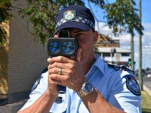 Over 30 speeding detections in two hours