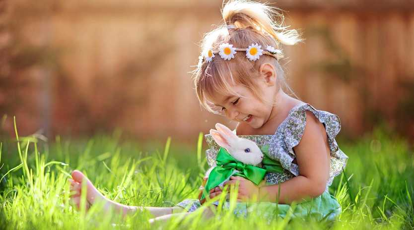 HOPPING INTO EASTER: Families will enjoy the fun of Maryborough's Easter in the Park event on Sunday.
