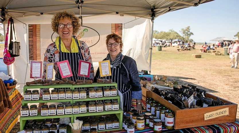 TASTY TREATS: A Sunday market will conclude the nine-day Big Skies Festival at Dalby.