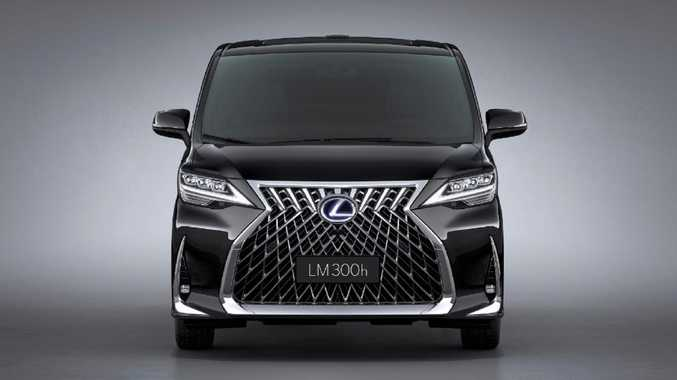 The Lexus LM 350 minivan is hideously luxurious
