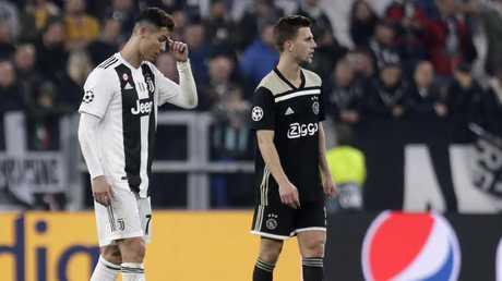 Ronaldo could save Juve. Picture: AP