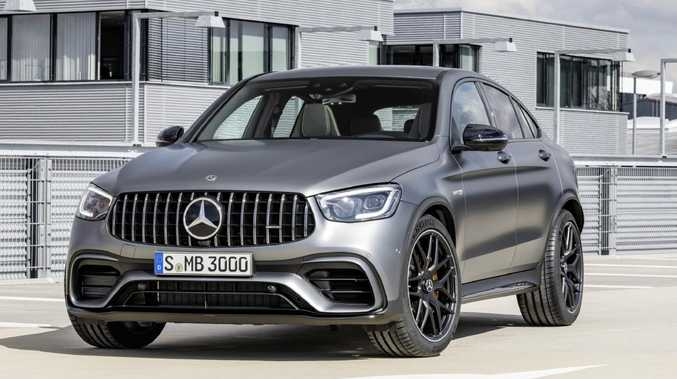 2019 Mercedes-AMG GLC 63 S Coupe.