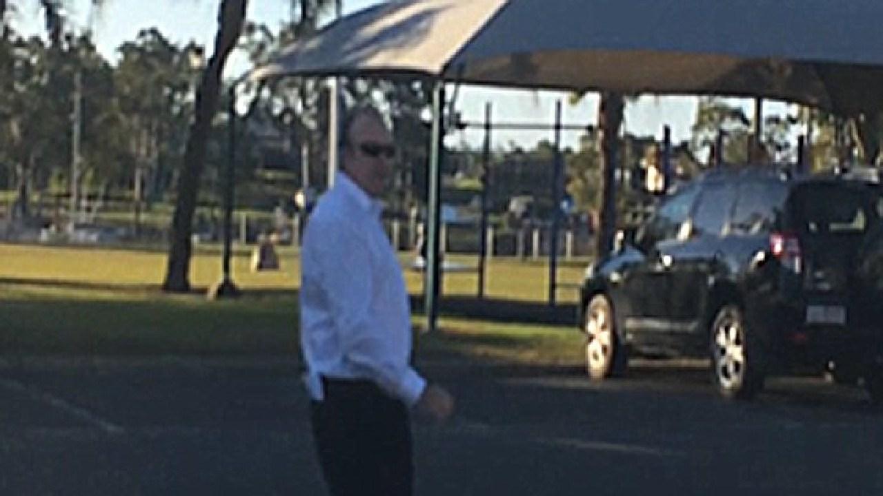 Eden Kane pictured near Bundaberg Magistrates Court in 2014.