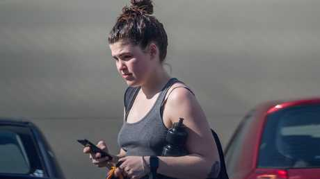 The disgraced wellness blogger could face jail time, sequestration of property or other punishment if she fails to pay the $10,000 fine. Picture: Jake Nowakowski