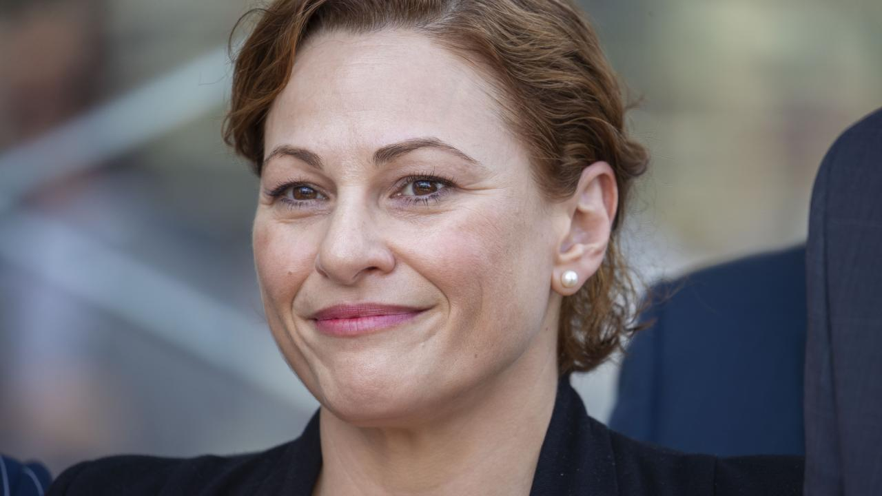 Deputy Premier Jackie Trad says there are issues around Adani's groundwater management plan. Picture: Glenn Hunt/The Australian