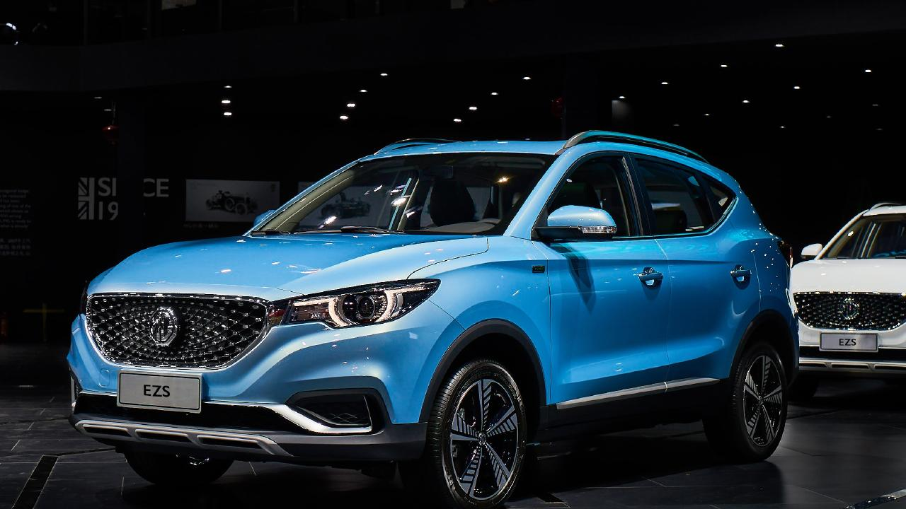 MG is preparing to launch its new electric SUV.