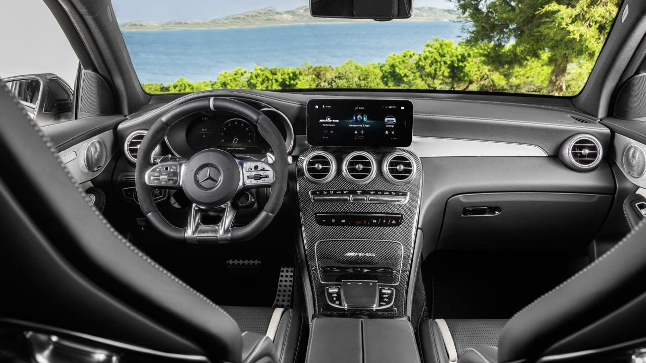 The GLC's interior has been reworked rather than receiving a full revamp.