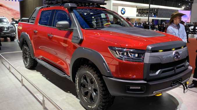 Great Wall wants a slice of the profitable dual-cab ute segment.