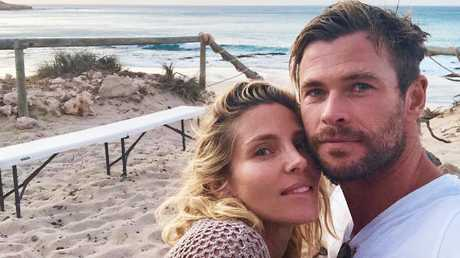 The couple of nine years moved from Hollywood to Byron Bay, Australia, in 2014. Picture: Instagram
