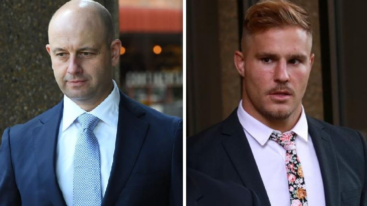 Todd Greenberg faced more grilling from Jack de Belin's lawyers on Wednesday.