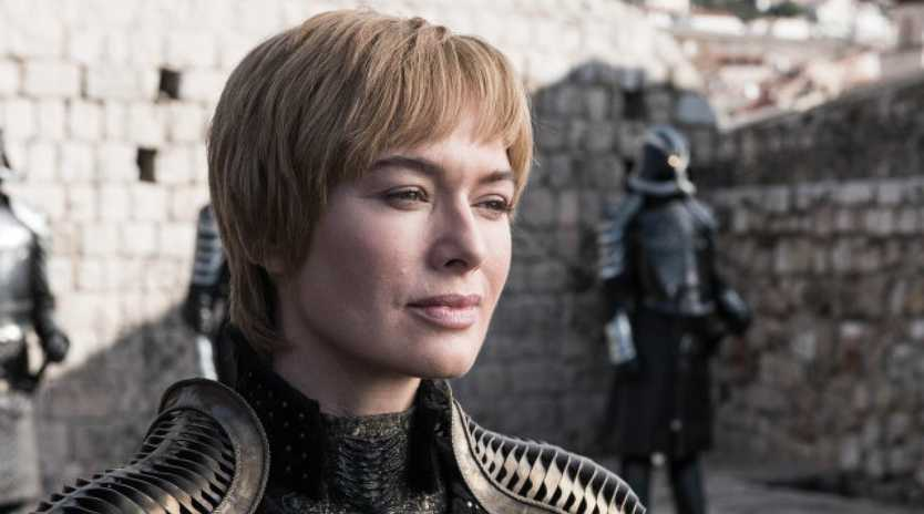 Cersei Lannister (played by Lena Headey) in the season 8 premiere.