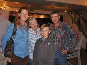 Terry, Kyan, Betty and Tony at Beaches Restaurant at