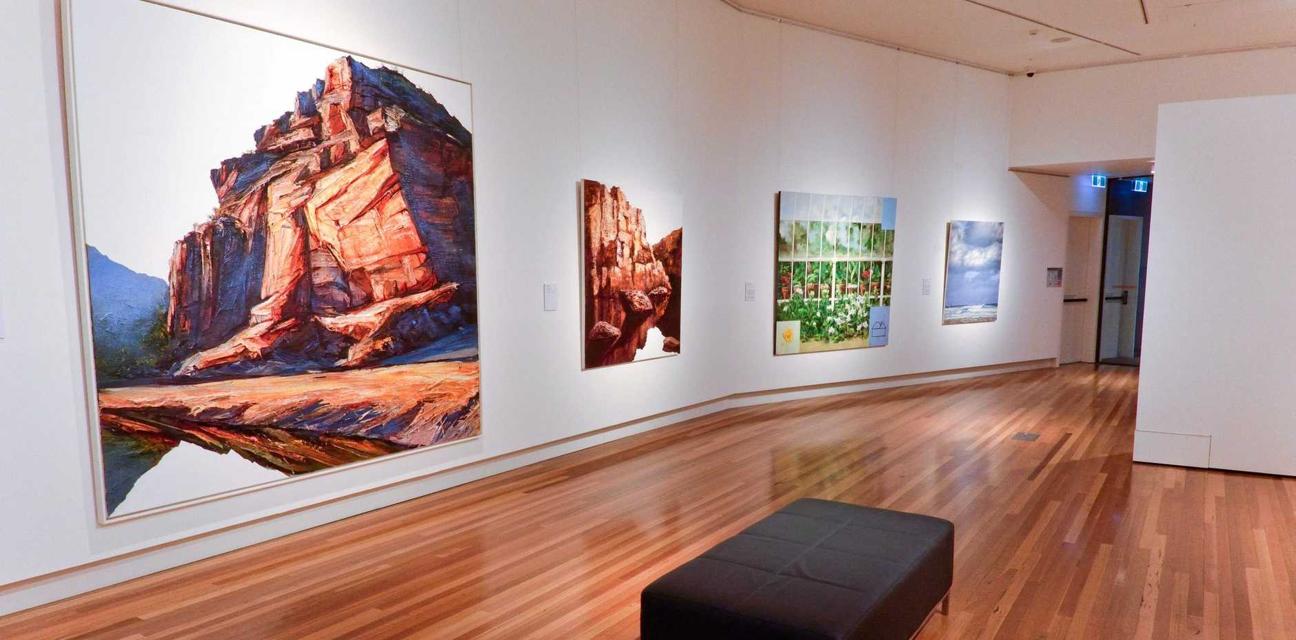 The Glasshouse Regional Gallery - conducting accessible art tours on the last Friday of each month.