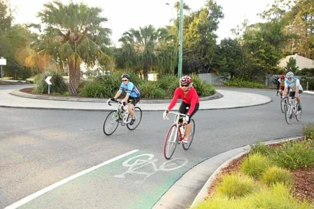 ROAD AHEAD: Cycle lanes are a key demand on the RACQ's wish list.