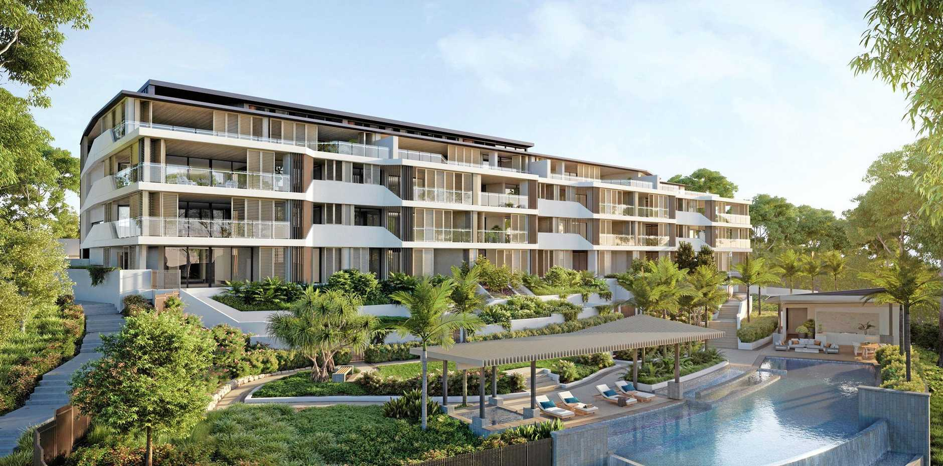 IN DEMAND: Artist impression of Lumina Residences at Settler's Cove.