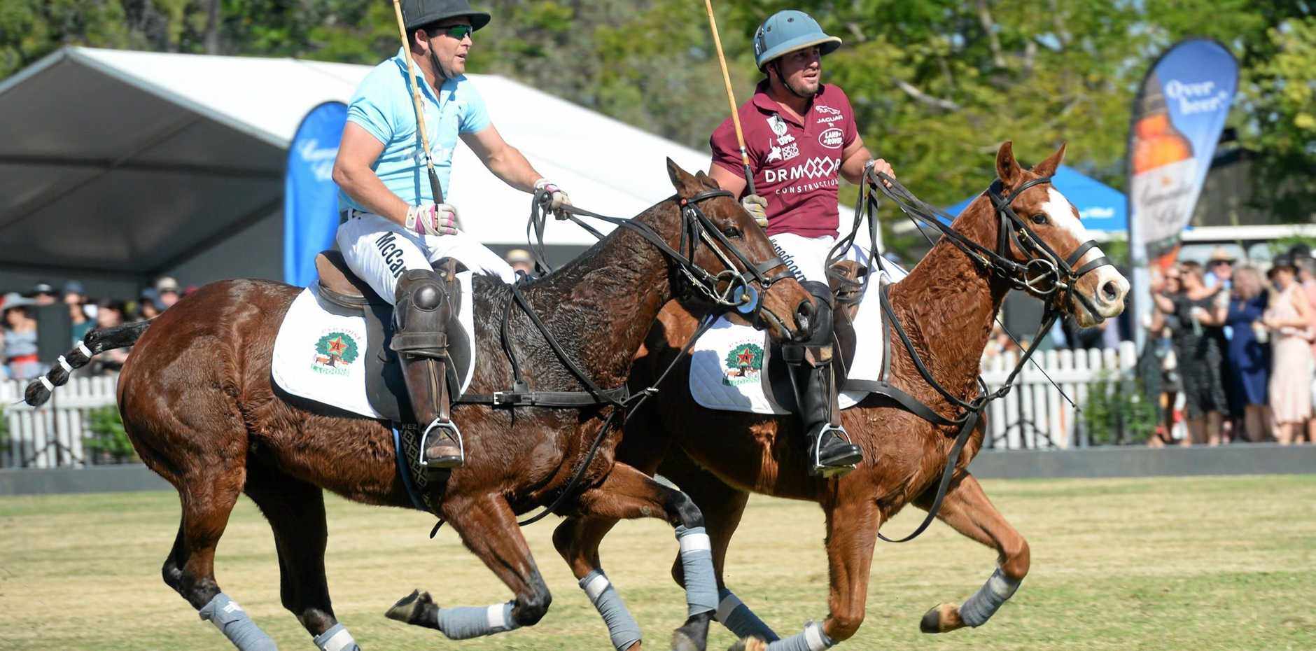 POP-UP POLO: Riders like Ric McCarthy and Zac Hagedoorn could soon be on their way to Bundaberg.
