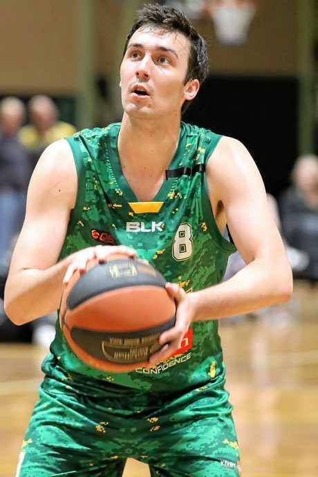 Ipswich Force basketballer Josh Spiers