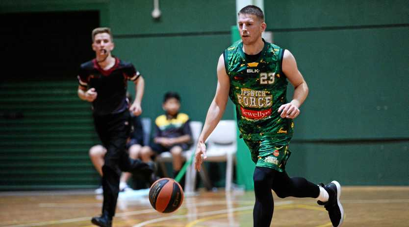 Ipswich Force American import Kyle Harvey has returned ready for another QBL season.