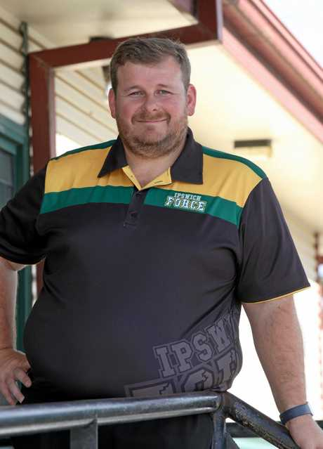 Ipswich Force head coach Chris Riches.