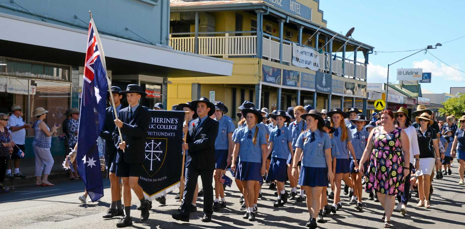SHOW OF RESPECT: Proserpine will again host its Anzac Day march and service.
