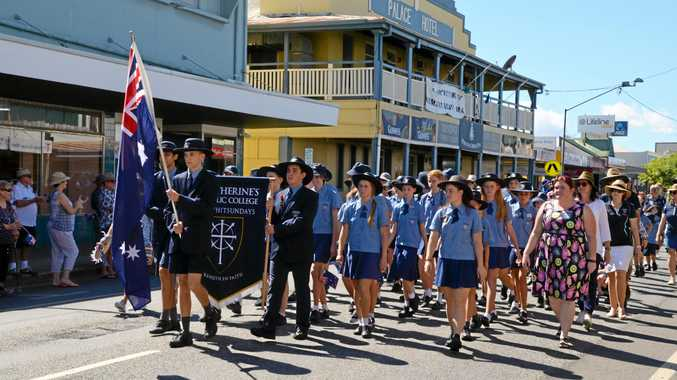 Remembering the fallen: Proserpine Anzac services