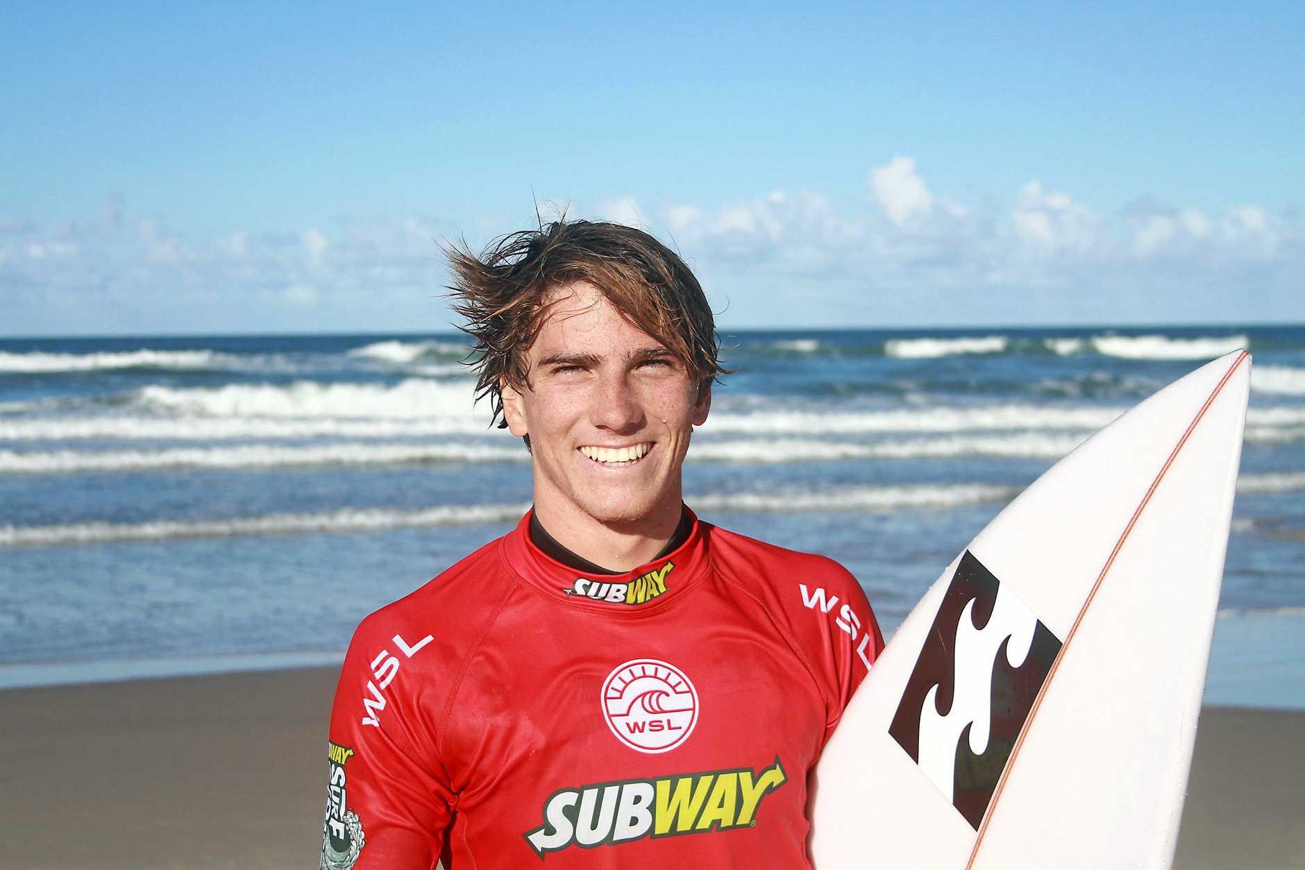 CHAMP: Boys winner Reef Heazlewood.