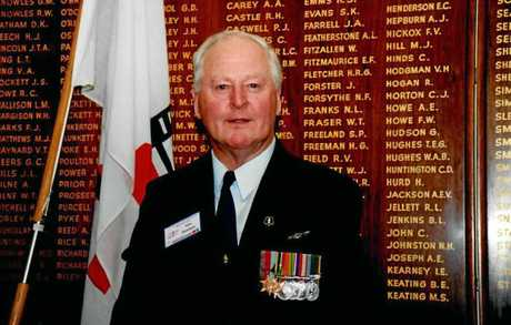 Alex Hawkins will be remembered as a war hero by his daughter in Eidsvold this Anzac day.