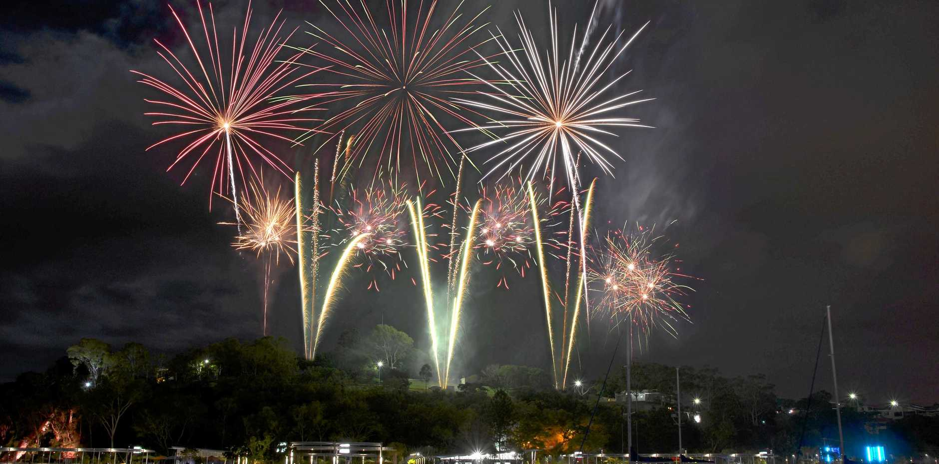 SPECTACULAR: The Gladstone Harbour Festival's fireworks display will be spectacular.