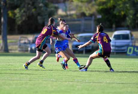 Gympie Devils womens team -