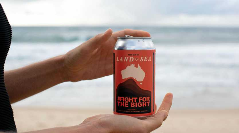SPECIAL: Land and Sea Brewery's Fight for the Bight beer.